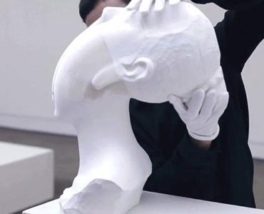 flexible paper sculptures